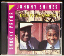 Back to the Country by Johnny Shines (CD, Aug-1991, Blind Pig)