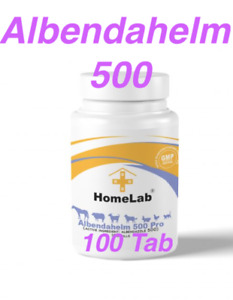 100-300 Tab Albendahelm Dewormer For Dogs Anthelmintic Panacur Tapeworm