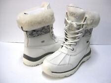 UGG ADIRONDACK III WOMEN WINTER BOOTS LEATHER WHITE US 7/ UK 5.5/EU 38/JP24