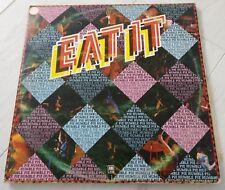 HUMBLE PIE Eat It D/LP 1973 A&M 1st Press + BOOK!