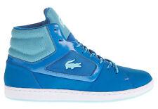 Lacoste Ladies Calexi Mid DCM Blue Sports Ankle Boots Trainers, UK 4 EU 37