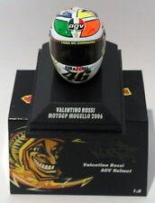 Minichamps 1/8 Scale 397 060076 - AGV Helmet Moto GP Mugello 2006 V. Rossi