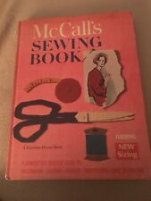 Vintage 1968 McCall's Sewing Book Hardcover Clothing Fashion Fabric Alterations