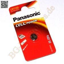 1 x LR1130 Alkaline Power Battery LR54 AG10 V10GA LR1130EL/1BP Panasonic  1pcs