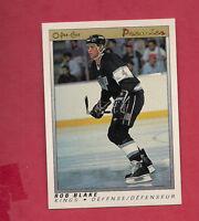 1990-91 OPC PREMIER # 6 KINGS ROB BLAKE   ROOKIE  CARD