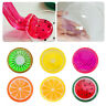 6 Colors Creative Fruit Crystal Clay Putty Jelly Slime Plasticine Mud Kids Toys