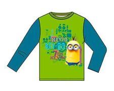 T-shirts, débardeurs et chemises verte à manches longues pour garçon de 2 à 16 ans en 100% coton