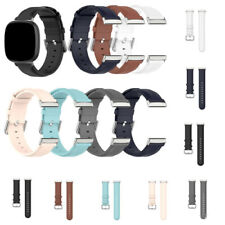 For Fitbit Versa 3/ Sense Smart Watch Band Soft Leather Wrist Replacement Straps