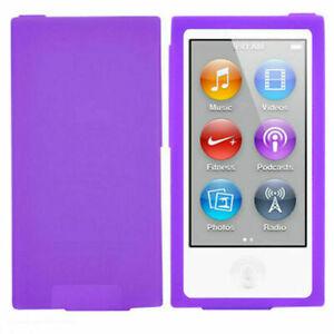 Silicone Soft Skin Case Cover for Apple iPod Nano 7th & 8th Generation - 7Colors
