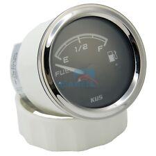 KUS Fuel Level Gauge Marine Boat Truck Fuel Indicator 12/24V 52mm 0-190ohms