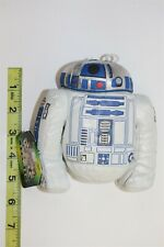 STAR WARS BUDIES - BEAN BAG PLUSH - 1997 - R2-D2 - DROID - W / TAGS -