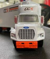 ford ccx Con way Express semi truck 2 trailers die cast  Colectable