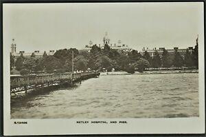 NETLEY HOSPITAL & PIER postcard