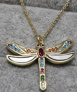 Thomas Sabo ke1970-295-7 Halskette Libelle Gold ag925