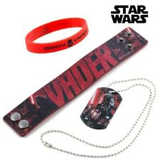 Vader (Star Wars) Bracelets and Pendant Darth