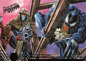 VENOM AND MACE / Spider-Man Fleer Ultra 1995 BASE Trading Card #105