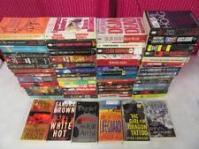 HUGE Lot (61) MURDER MYSTERY THRILLER Books TESS GERRITSEN JAMES ROLLINS GRISHAM