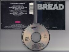 BREAD The Very Best Of 16 Great Songs 1991 CD DAVID GATES If Guitar Man Aubrey