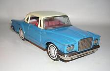 Ichiko Japan Blech Plymouth Valiant blau mit Aufzug Motor 60er Jahre #206