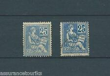FRANCE TYPE MOUCHON - 1900 114 et 114bi - TYPE I - MAURY