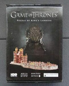 New Game of Thrones Puzzle of King's Landing 3D Jigsaw HBO 4D Cityscape 51003