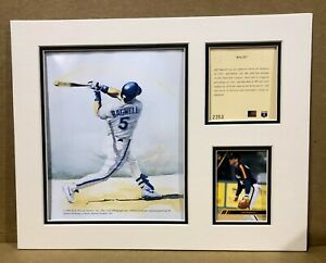 Houston Astros Jeff Bagwell 1994 Baseball 11x14 MATTED Kelly Russell Print