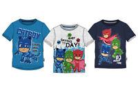 PJ Masks T-Shirt Jungen Oberteil Kurzarm Catboy Gr. 98 104 110 116 128 Neu&Ovp