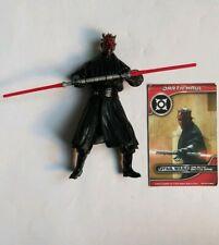 Star Wars Hasbro Darth Maul with Game Card Loose Figure.