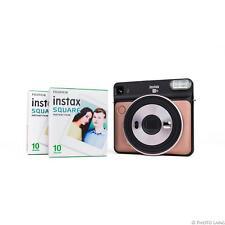 Fuji Instax Square SQ6 SQ 6 Sofortbildkamera Hochzeitskamera blush gold 2 Filme