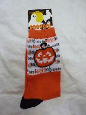 Pumpkin Happy Halloween Women's 9-11 Halloween Socks - NWT
