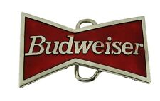 Bud Budweiser Belt Buckle Men Metal Halloween Costume Gift Gothic Tattoo Fashion