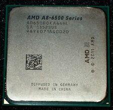 AMD A8-6500B 3.5 GHZ QUAD CORE Processor, AD650BOKA44HL, SOCKET FM2