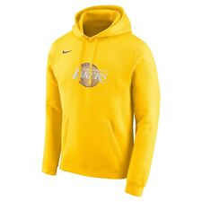 New 2020 NBA Nike Los Angeles Lakers City Edition Club Fleece Pullover Hoodie