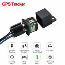 Mini Relay GPS Tracker Auto Fuel Cut Off GPS Car Locator Overspeed Alert