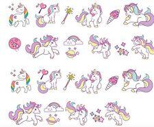 Alideco Carino Kawaii Kitsch Washi Appiccicoso Nastro Adesivo Deco Candy colore unicorni