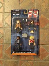 Minimates 24 SEASON ONE Box Set JACK BAUER NINA MEYERS DAVID PALMER KIM