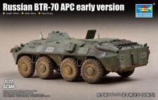 Modellini statici di veicoli militari corazzato in plastica, scala 1:72