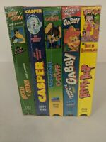VHS Cartoons Casper Heckle And Jeckle Betty Boop Gabby Herman And Catnip 5 tapes
