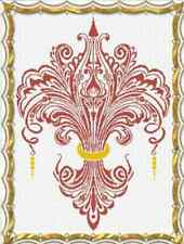 Alessandra Adelaide Needleworks ANOTHER FLEUR DE LYS Cross Stitch Pattern LILY