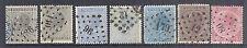 1865 & 1867 Belgium - 18-21 Part Set with Variations - P15 & P14.5 x 14 - Used*