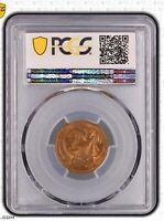 1967 Australian Decimal 2 Cent No SD Variety PCGS Grade Uncirculated MS63RB