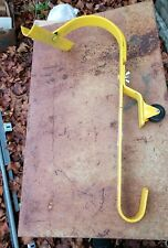 Acro Building Systems 11081 Roof Ridge Ladder Hook w/ Fixed Wheel & Swivel Bar