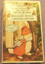 The Tale of Peter Rabbit and Benjamin Bunny by Beatrix Potter (VHS, 1993, Clam S