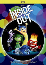 Disney Pixar Animation Studios Imaginary Friend Emotions Movie Inside Out on DVD
