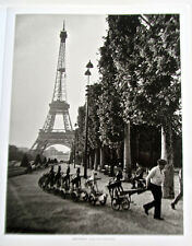 Robert Doisneau Photo Reprint Frenchman Leading Toy Army 15 1/2x12  Unsigned