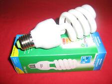 10 LAMPADE RISPARMIO ENERGETICO 36 W = 180 W E27 LAMPADINA SPIRALE FREDDA 6400K