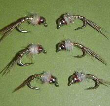Tungsten  Rainbow Warrior Midge Fly size 18