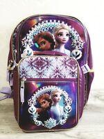 "Disney Frozen II Elsa & Anna 16"" Backpack & Insulated Lunch Bag 2-Piece Set NWOT"
