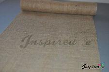 "Table Runner Hessian Burlap Wedding Sweet Table Decoration  200 cm / 79"""
