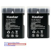 Kastar Replacement Battery for Nikon EN-EL14 MH-24 & Nikon D3200 DSLR Camera